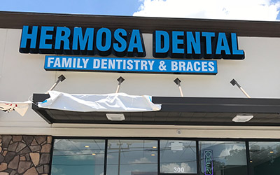Hermosa Dental at E. Little York Rd.